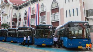 ขยายเวลาให้บริการขึ้น รถเมล์ใหม่ ฟรี ถึงสิ้นเดือน ม.ค. 61 นี้
