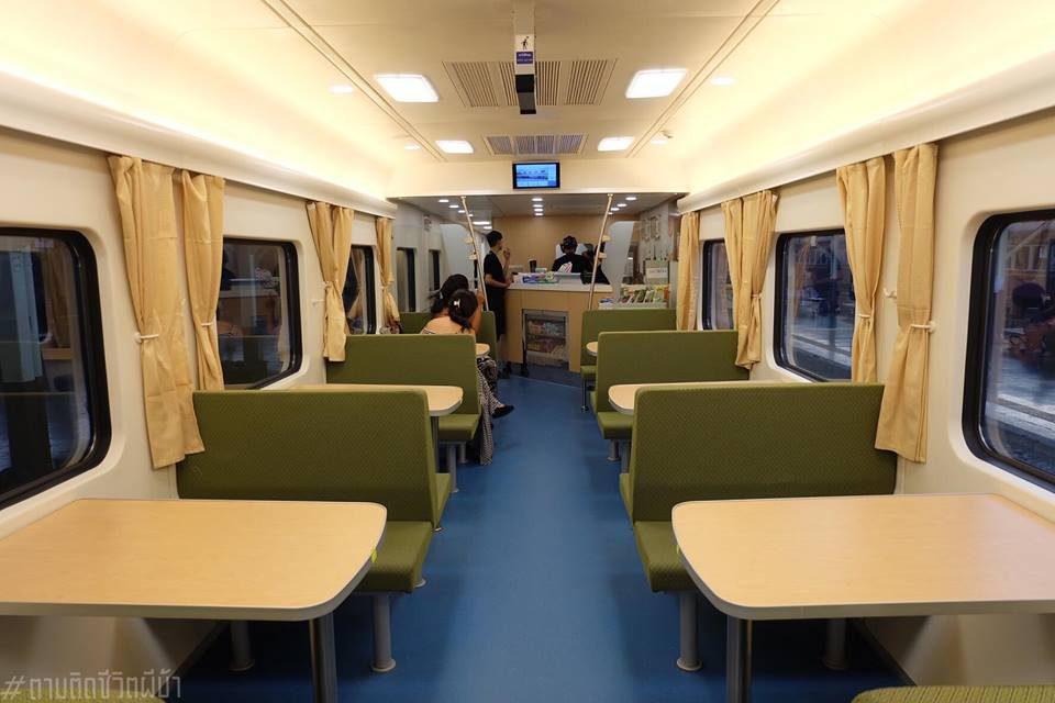 ตู้เสบียง รีวิวรถไฟรุ่นใหม่ ขบวนชั้น 2 กรุงเทพฯ-เชียงใหม่