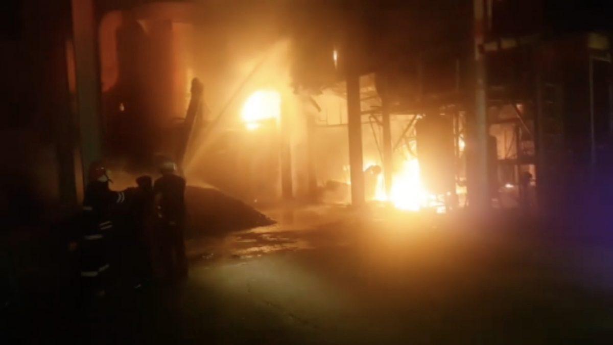 ไฟไหม้โรงงาน จ. ชลบุรี เสียหาย 2 ล้านบาท