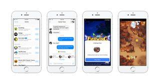 Facebook เพิ่มฟีเจอร์เกมส์ในแอพฯ Messenger ให้ได้เล่นแก้เบื่อกัน