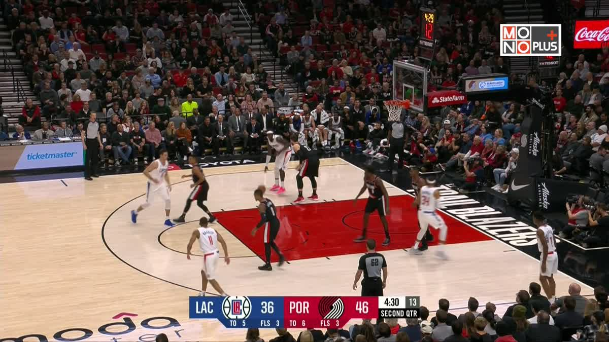 [Highlight] Los Angeles Clippers VS Portland Trail Blazers
