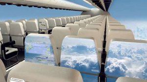 อลังการ ! เครื่องบินไร้หน้าต่าง แต่สามารถชมวิวได้แบบ 360 องศา