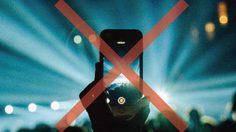 ลือหนัก!! Apple เตรียมบล็อค iPhone ห้ามถ่ายรูปหรือวิดิโอในคอนเสิร์ต