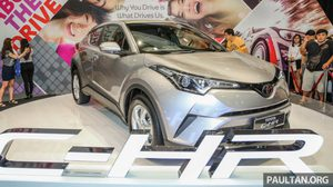 Toyota C-HR เผยโฉม เช็คเสียงตอบรับจากแฟนๆ ที่ มาเลเซีย