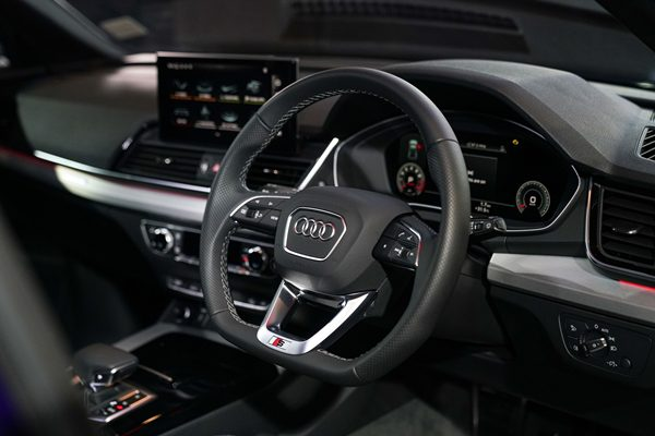 The New Audi Q5 45 TFSI quattro S line Black Edition