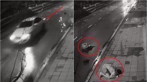 อุบัติเหตุชนแล้วหนี! สาววอนใครพบเห็นรถยนต์ในคลิป โปรดแจ้งเบาะแส
