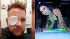 หนุ่มชาวออสเตรเลีย ตาบอดชั่วคราว หลังโดนฉี่สาวอะโกโก้ไทยกระเด็นใส่ตาในงานปาร์ตี้