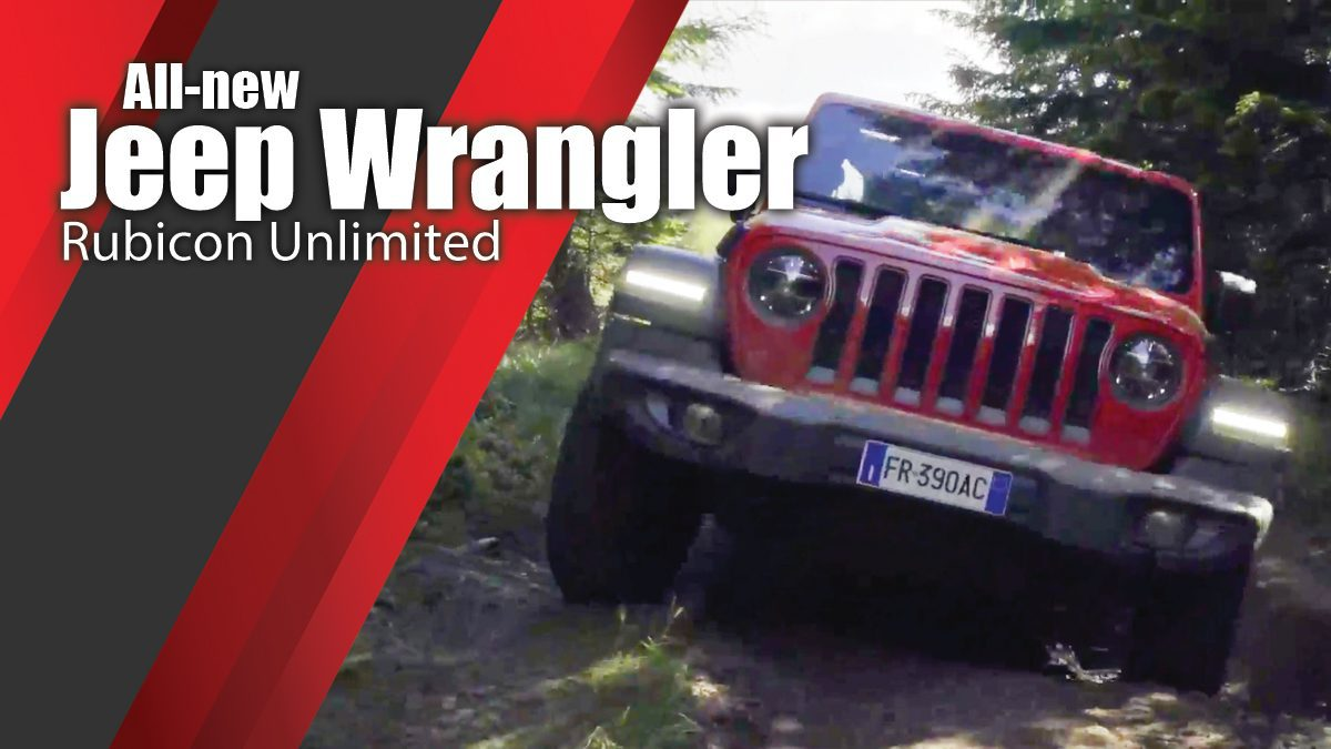 All-new Jeep Wrangler Rubicon Unlimited