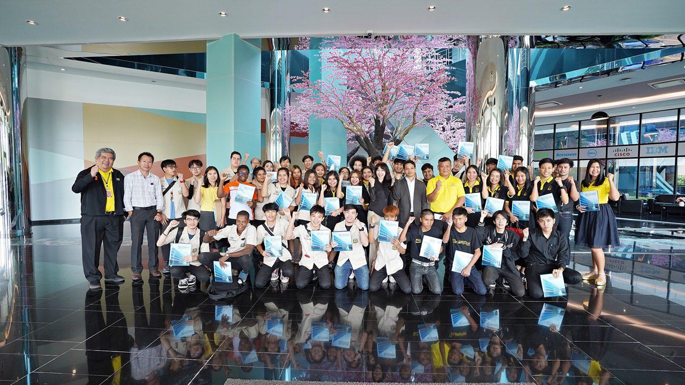 MSC ต้อนรับคณาจารย์และนักศึกษามหาวิทยาลัยเกษมบัณฑิต