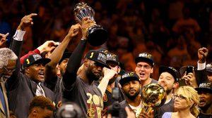 สุดติ่ง! คลีฟแลนด์พลิกจาก 1-3 เป็น 4-3 เกม คว้าแชมป์ NBA ปีนี้ไปครอง
