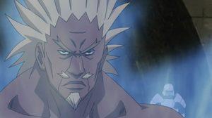 ไรคาเงะ เอ รุ่นที่ 4 แห่งหมู่บ้านคุโมะงาคุเระ จาก Naruto นินจาจอมคาถา