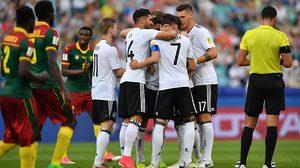 ผลบอล : แวร์เนอร์ เบิ้ล2เม็ด!! เยอรมัน ไล่ต้อน แคเมอรูน สิบคน 3-1 ซิวแชมป์กลุ่ม ลิ่วชน จังโก้