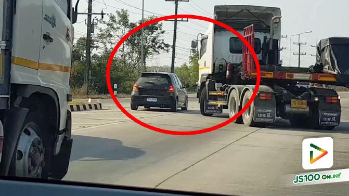 รถเสียไหมไม่รู้ แต่จะจอดกีดขวางโดยไม่ส่งสัญญาณแบบนี้เกินไป (06/02/2021)