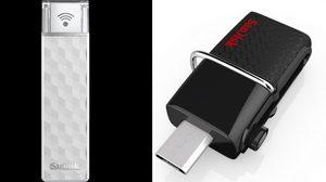 SanDisk ขยายความจุมือถือกับ Wireless Stick 200 GB และ Ultra Dual USB Drive 3.0 128 GB