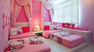 เอาใจคนรักคิตตี้!! หลากดีไซน์ห้องนอนสีชมพูหวานๆ
