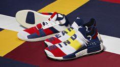 adidas Originals เปิดตัวสนีกเกอร์รุ่นใหม่กับ Pharrell Williams + Billionaire Boys Club