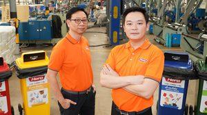 ฮีโร่ เปิดบ้านโชว์ นวัตกรรมรีไซเคิลครบวงจรแห่งแรกในไทย
