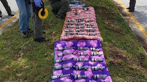 เผยแล้ว ที่มาระเบิดไปป์บอมบ์กว่า 40 ลูก หลังยึดได้ที่ นราธิวาส