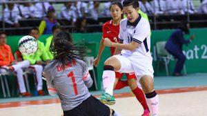 โต๊ะเล็กหญิงไทยแกร่งอัดจีน 4-1 ลิ่วชิงญี่ปุ่นแชมป์เก่าศึกเอเชี่ยนอินดอร์ฯ