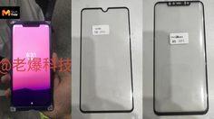 เผยภาพชิ้นส่วนหน้าจอและตัวเครื่อง Huawei Mate 20 และ Mate 20 Pro