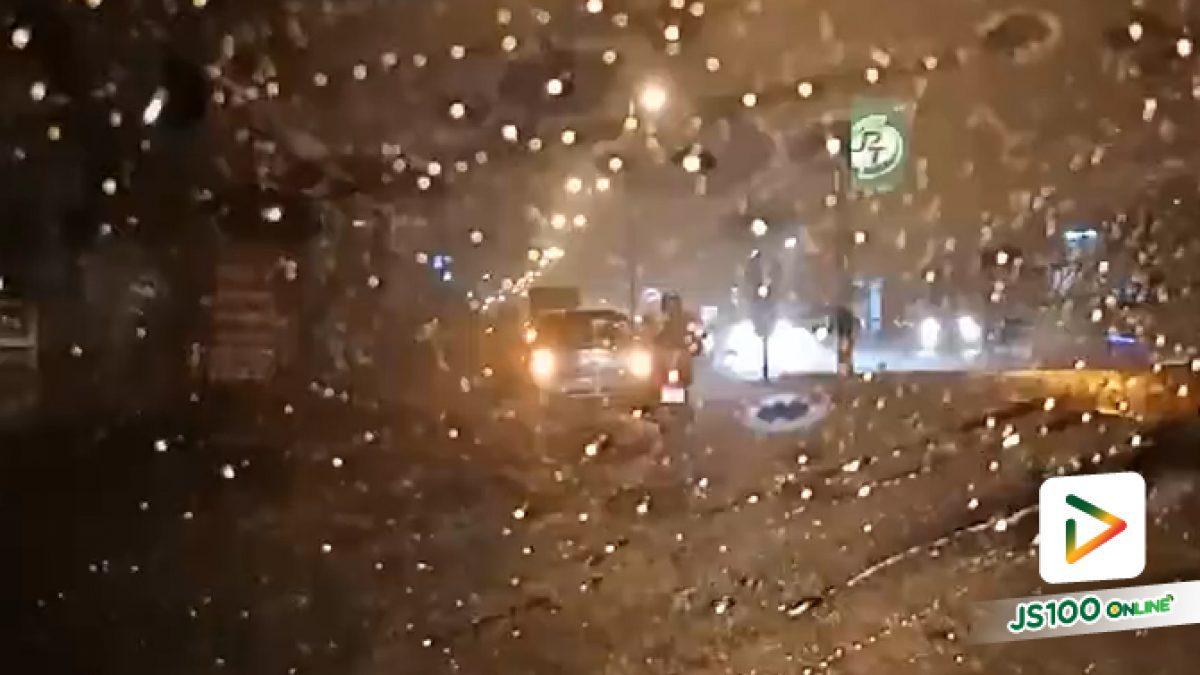 คลิป น้ำท่วม ฝนตกหนัก ที่ อ.แม่ริม จ.เชียงใหม่ (01-05-61)