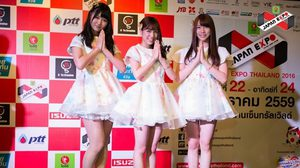 AKB48 ส่งตัวแทนแถลงข่าวงาน Japan Expo 2016