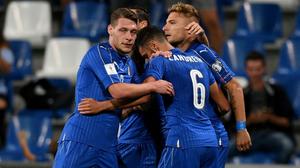 ผลบอล : ปาดเหงื่อยกใหญ่!! อิตาลี เฝ้ารังเฉือนหวิว อิสราเอล 1-0 รั้งรองฝูงกลุ่มG