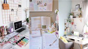 จัดโต๊ะหนังสือแบบไหน ให้น่านั่งทำการบ้าน