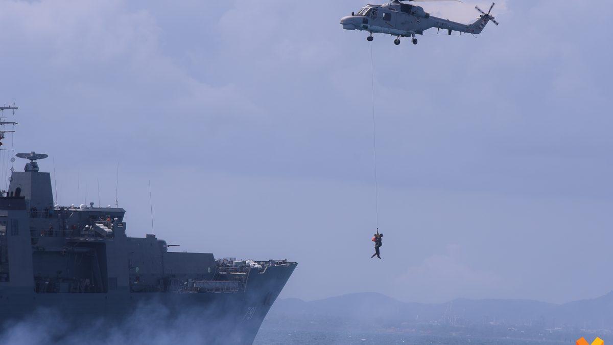 """"""" พลเอก ประยุทธ์  """" เตรียมเดินทางตรวจเยี่ยมการฝีกฯ ภาคสนาม - ทางทะเล ของ ศรชล."""