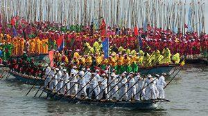 ประมวลภาพบรรยากาศ เทศกาลพายเรือ ชินตง