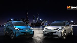 Toyota เปิดตัว C-HR ไฟฟ้าควบแฝดเหมือน IZOA ที่เซี่ยงไฮ้ จีน