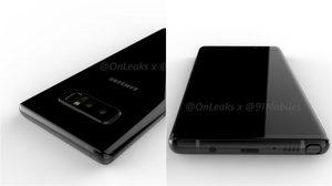 หลุดเต็มๆ!! ภาพเรนเดอร์ Samsung Galaxy Note 8