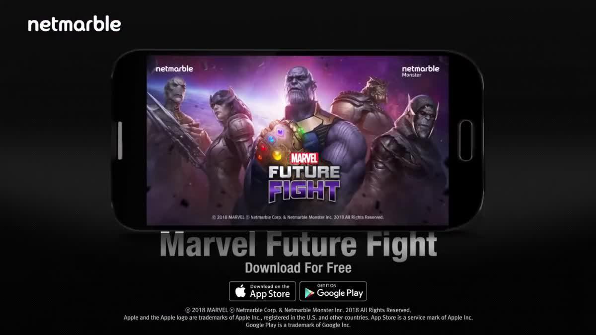 [ตัวอย่างเกม] MARVEL Future Fight อัปเดต AVENGERS INFINITY WAR แล้ววันนี้!