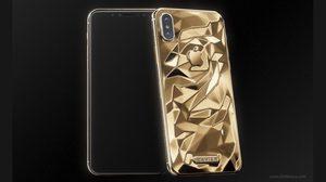 iPhone X สีทอง อยากได้มั้ย แต่ราคา 150,000 บาทนะ เพราะทำจากทองแท้