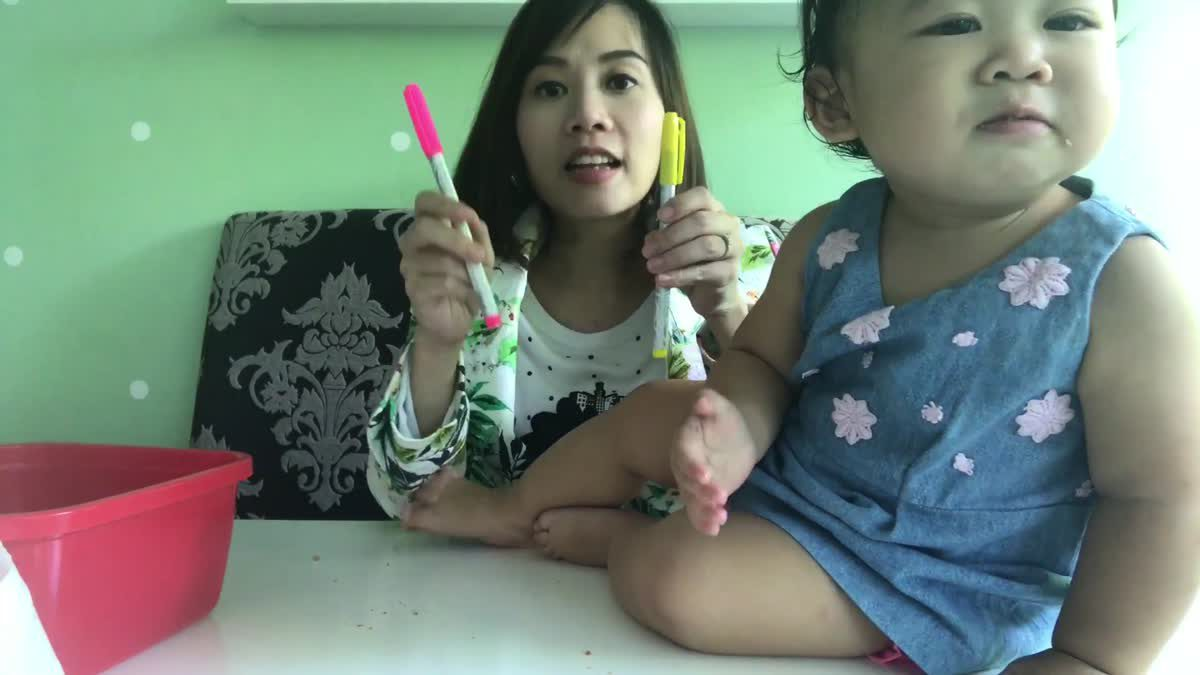 English with Rainnie EP.19 Learning Pink And Yellow