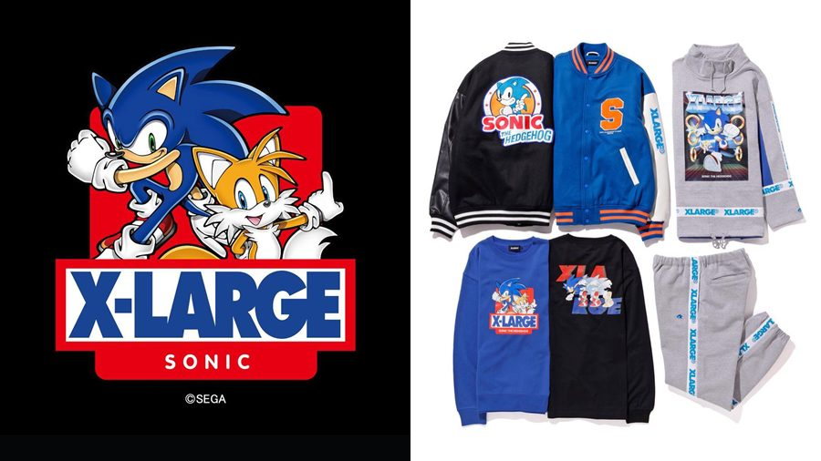 Xlarge ฉลองปีใหม่ด้วยคอลเลคชั่นเอ็กซ์คลูซีฟกับ Sonic the Hedgehog