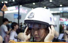 """""""แว่นตา-หมวกอัจฉริยะ"""" สำหรับตำรวจจีน"""