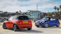 Mini Hatch และ Mini Convertible รุ่นปรับโฉมใหม่ โดดเด่นด้วยไฟท้ายใหม่ลายธงยูเนียน แจ็ค