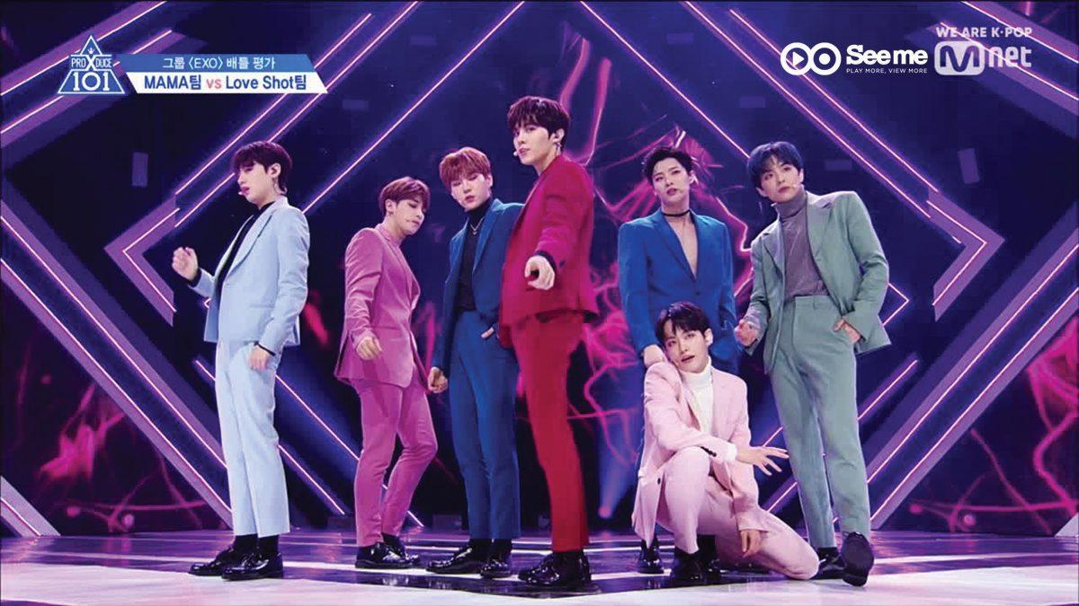 PRODUCE X 101 ㅣทีม Oh! 나나 - EXO ♬LOVE SHOT @การแข่งขันรอบ Group Battle [EP.3]