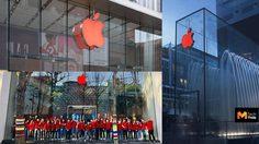 Apple เปลี่ยนโลโก้หน้า Apple Store เป็นสีแดง หลายแห่งทั่วโลกเนื่องใน วันเอดส์โลก