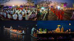 เวียนเทียนกลางน้ำ กว๊านพะเยา ครั้งที่ 35 ประเพณีแปลกไม่เหมือนใครโลก