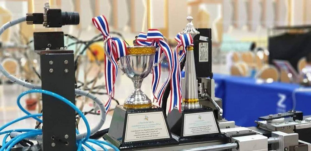 การแข่งขันหุ่นยนต์ TPA PLC COMPETITION 2019