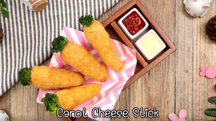 วิธีทำ แครอทชีสสติ๊ก ให้หนูๆ กินผักอย่างสนุกสนาน