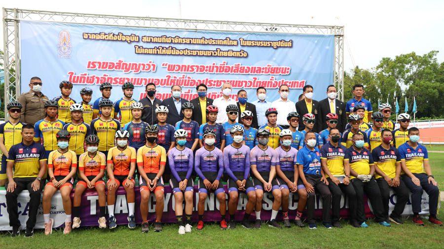 """รมว """"พิพัฒน์"""" เยี่ยมการเก็บตัว นักกีฬาทีมชาติไทยช่วงโควิด 19"""