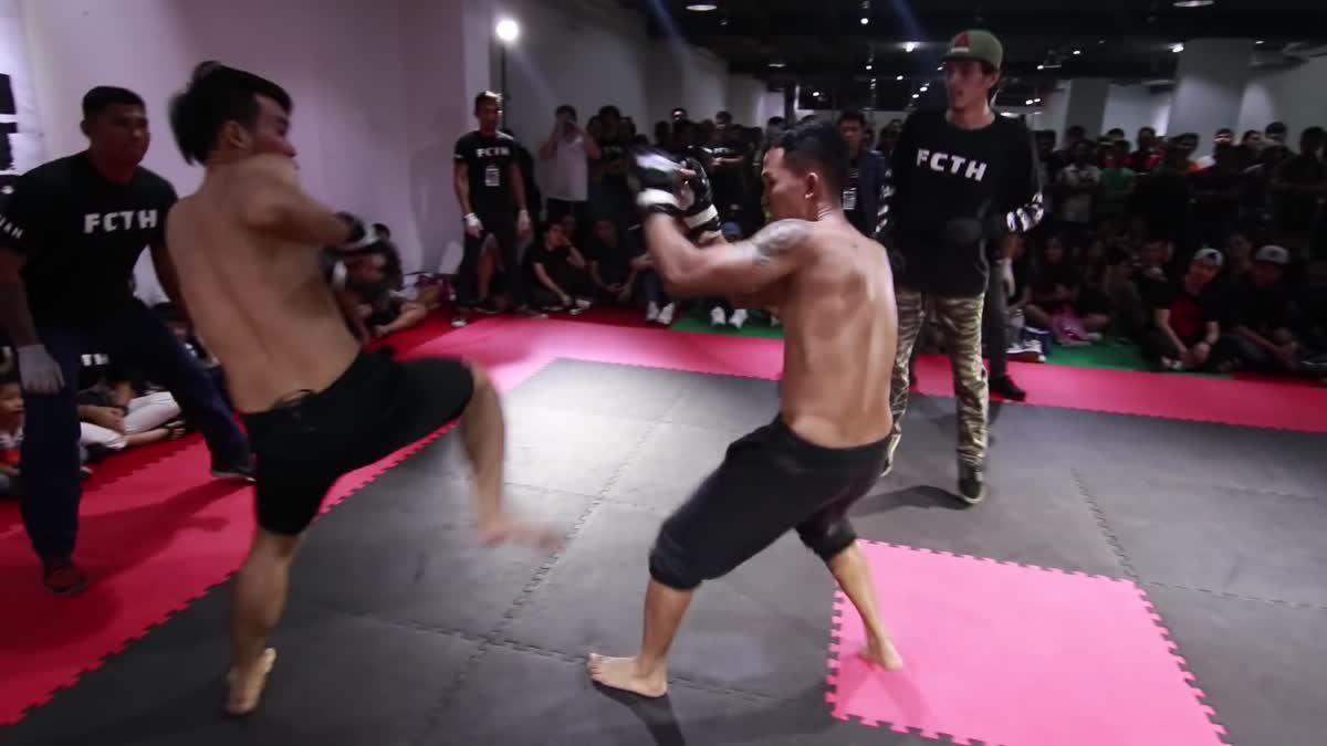 Fight Club Thailand 2017 ดีส steelhand x Pinocchio แก๊พ คู่ที่ 207