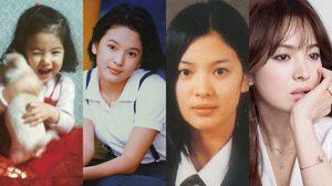 """ย้อนวัยเด็ก """"ซองเฮเคียว"""" นางเอกหน้าเด็กอมตะ"""