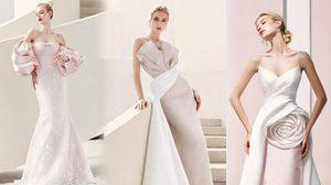 """ชุดแต่งงานยุคนิวนอร์มอล สวย เรียบหรู ดูมีรสนิยมแบบสาวยุโรป """"Cherry blossom bridal collection"""""""