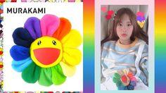 ดอกไม้สีรุ้ง Murakami ราคาดอกละเป็นพันบาท