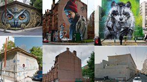 งานดี!! ภาพ Before & After ของงาน Street Art จากทั่วทุกมุมโลก