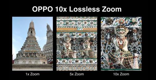 """มาไทยแน่ เร็วๆนี้! OPPO เผยประสบการณ์สุดยิ่งใหญ่กับ """"เทคโนโลยีกล้องซูม 10 เท่า"""" (OPPO 10x Lossless Zoom)"""